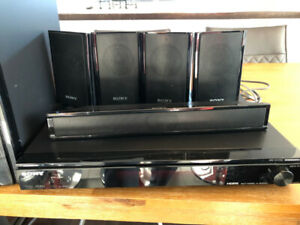 Sony surround sound system - Systeme de son Sony