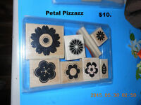 Stamp set by Stamping up   : Petal Pizzazz