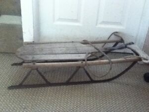 Antique Kids Sled