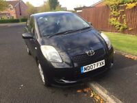 2007 Toyota Yaris 1.3 Zinc Auto Low mileage