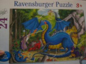 Schleich Dragon toy with man, and Ravensburger dragon puzzel St. John's Newfoundland image 4