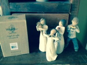4 Willow Tree ornaments for sale