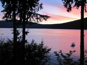 WATERFRONT CABIN FOR SALE SHUSWAP LAKE BC.