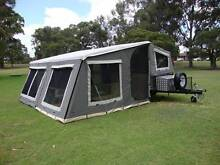 PMX Trailer Soft Floor Off Road Camper Trailer + Family size tent Wangara Wanneroo Area Preview