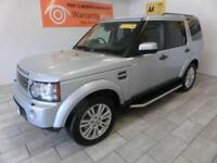 SILVER LAND ROVER DISCOVERY 3.0 4 TDV6 HSE ***FROM £438 PER MONTH***