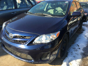 2012 Toyota Corolla just arrived for sale at Pic N Save!!