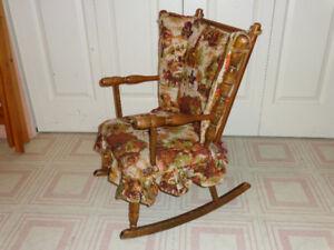 Chaise berçante enfant