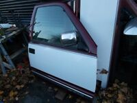left and right front doors 1998 Chevrolet pickup