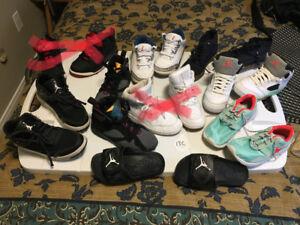 EUC Toddler Shoes - Jordans / Nikes - Size 10c to 13c
