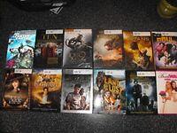 Lot DVD films 12 films