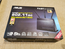 Asus RT-AC68U Dual-band Wireless Gigabit Router AC 1900 802.11ac