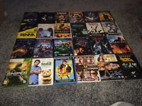 Job lot of DVDs and a Xbox 360 game