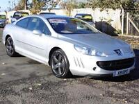 Peugeot 407 2.7HDi V6 ( 205bhp ) Auto Coupe, 67 000 Miles, 6 Months AA Warranty