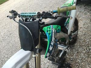 2009 KX250F, bad rod bearing, needs rebuilt Blown Blew London Ontario image 3