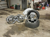 Escalade or GM wheels with sensors