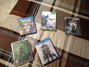 Ps4, Ps3, 360, & 3DS Games