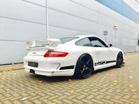 2006 56 reg Porsche 911 3.6 GT3 WHITE + Roll Cage + Carbon Bucket Seats