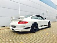 2006 56 reg Porsche 911 3.6 GT3 WHITE + Roll Cage + Carbon Bucket Seats