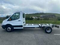 2015 Ford Transit 2.2 TDCi 350 125ps LWB tipper dropside pick up NO VAT CHASSIS