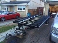 18 Foot X 6.6 Foot Alko 3,500kg Car Transporter Trailer Recovery Freshly Painted