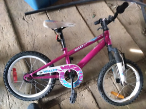 Pink girls children's bike great condition