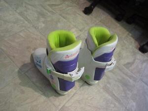 junior ski boots girls size 2