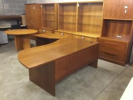Rosewood managers workstation