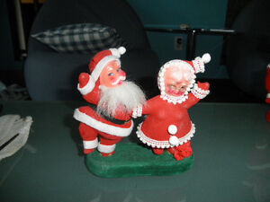 Vintage Mr and Mrs Claus