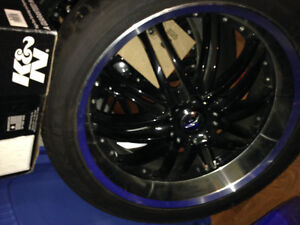 Alloys with Falken performance tires