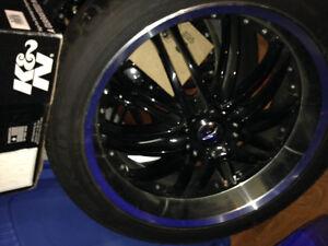 Alloys with Falken performance tires