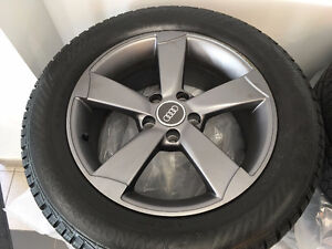 Audi A4 Allroad Wheels 235/55/R17 Gislaved Nord Frost