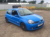 Clio sport 182 racing blue