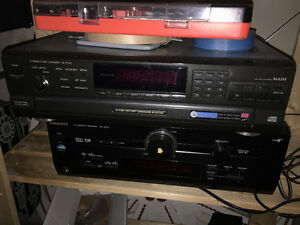 Panasonic Receiver and pitch control disk player