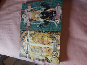 Death Note volume 4 and 10