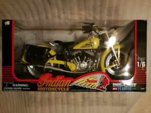 Indian Motorcycle Diecast 1/6 Scale