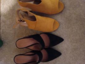 Ladies open shoes