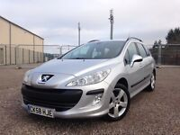 Peugeot 308 1.6 HDI 90 S (silver) 2008