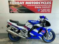 SUZUKI GSXR750WP BLUE & WHITE CLASSIC SUPERBIKE IN STANDARD CONDITION VERY NICE