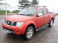 2007 (57) Nissan Navara Outlaw 4x4 D/C DCi, 2488cc Diesel, Manual, 4x4 / 4WD