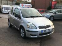Toyota Yaris T3 VVT-I 3dr PETROL MANUAL 03/53 MOT 6M WARRANTY LOW INSURANCE