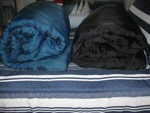 2 sacs de couchage