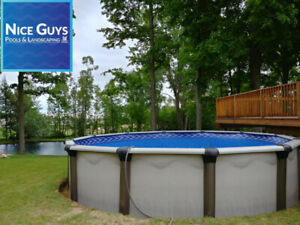 Above Ground Pools & Installations