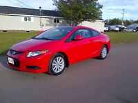 """REDUCED"" 2012 Honda Civic EX Coupe (2 door)"