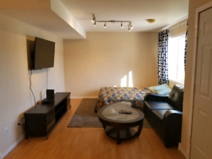 Open concept  basement for rent
