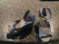 Taupe wedge-size 6
