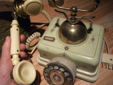 VINTAGE-1920 PHONE- BY AMERICAN TELEGRAGH TELEPHONE Co....AAT Mosman Mosman Area Preview