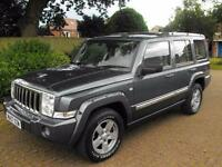 2007 Jeep Commander 3.0 CRD V6 Limited Station Wagon 4x4 5dr