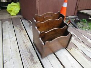MAGAZINE RACKS - VINTAGE AND RETRO (3 STYLES) - REDUCED!!!!