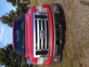 2010 Ford F-150 Red Pickup Truck