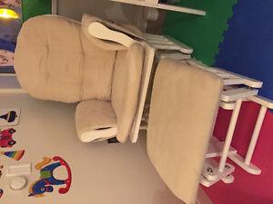 Nursing chair / Rocker / Glider and Ottoman